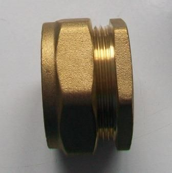 35mm Brass Compression Pipe Stop End Cap - 24373500