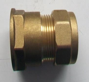 42mm x 1.1/2 inch Compression Female Iron to Copper - 24414200