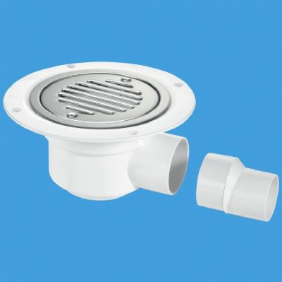 50mm seal wet room gully trap with grid for sheet floor for Wet room seal