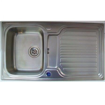 Astracast Montreux 1 Bowl Inset Kitchen Sink 900 X 500 Old Model   52035071    Plumbers Mate Ltd