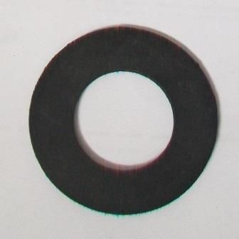 Bath Tap / Overflow Flat Rubber Washer 3/4 PACK OF 5 - 72000292