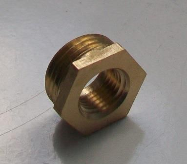 Brass Foundry - Thread Reducing Bushes 1/2 x 1/4 - 07000380