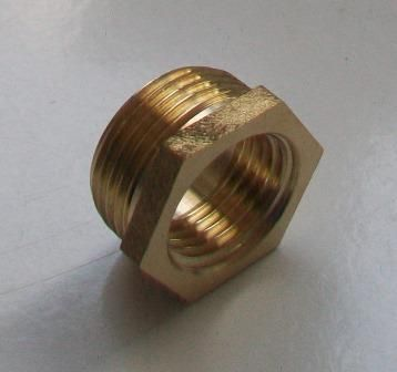 Brass Foundry - Thread Reducing Bushes 1/2 x 3/8 - 07000390