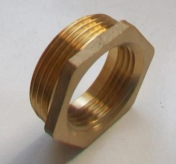 Brass Foundry - Thread Reducing Bushes 1.1/4 x 1 - 07000420