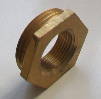 Brass Foundry - Thread Reducing Bushes 1.1/4 x 3/4 - 07001970