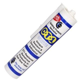 CT1 Sealant and Adhesive White - 54002002