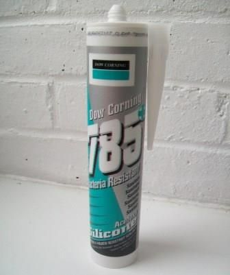 Dow Corning 785 Silicone Sanitary Sealant White