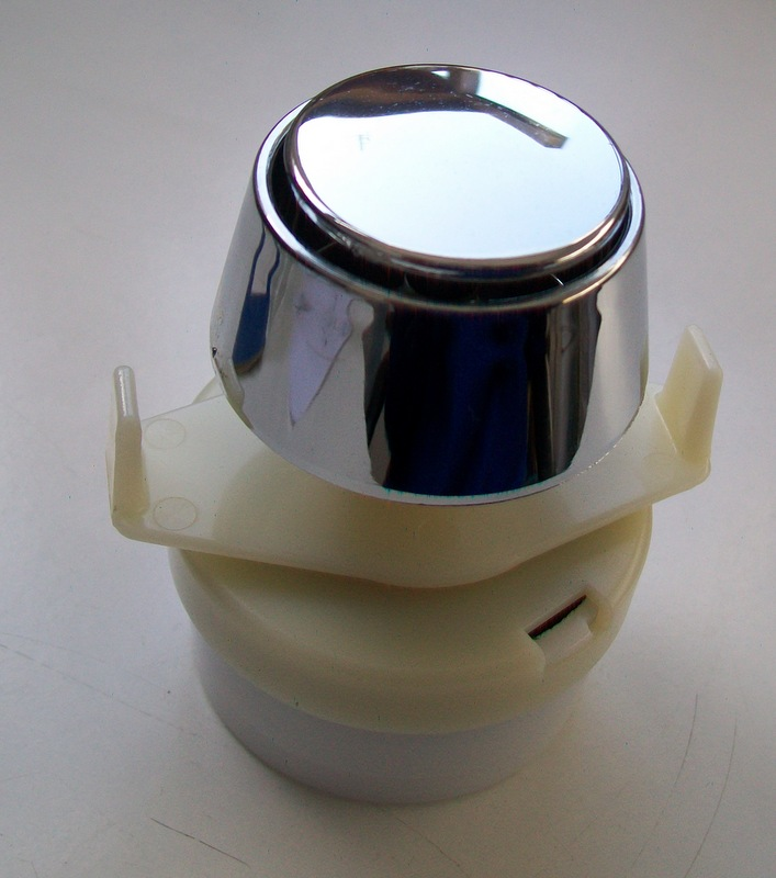 dudley pneumatic cone single flush push button 08001040
