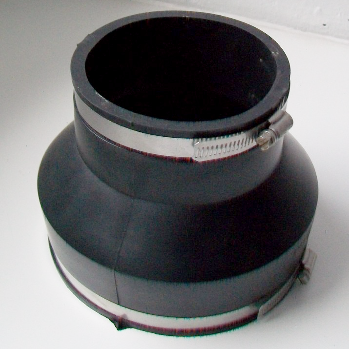 Flexible Pipe Connector 4in To 6in Reducer 150mm X 100mm