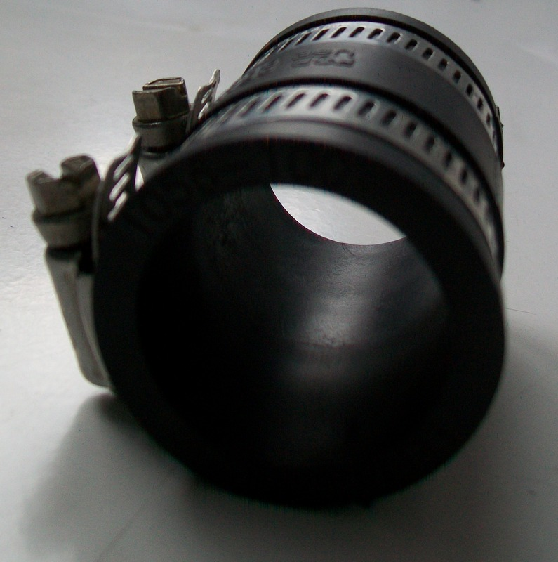 flexible rubber waste pipe connector 28mm to 34mm. Black Bedroom Furniture Sets. Home Design Ideas