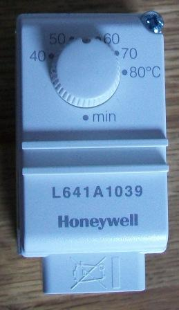 Honeywell L641A Hot Water Cylinder Thermostat
