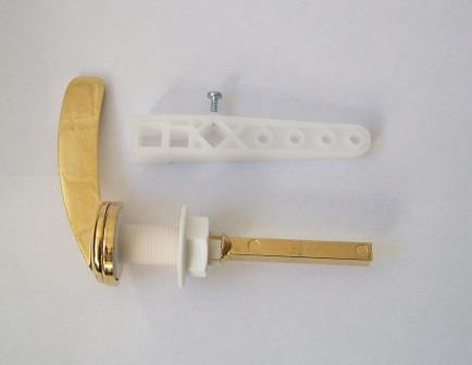 toilet cistern lever gold. Ideal Standard Front Cistern Lever 3 8 Gold Effect  08000401 Plumbers Mate Ltd