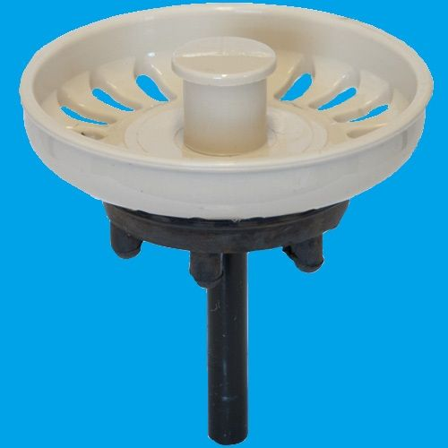 Indian Ivory Kitchen Sink Basket Strainer Waste Plug - 39000024 ...