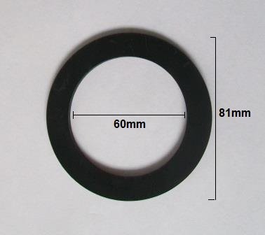 Large 2 Inch Flush Valve Or Sink Rubber Washer Seal