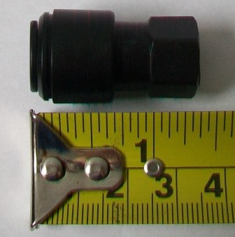 Liff Drinking Water /  Filter Tap Thread to 10mm Pipe - 76000020