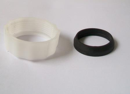 Low Level Cistern Flush Pipe Nut and Cone Washer - 08001369 ...