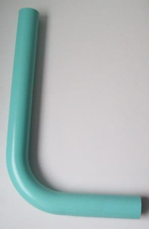 Low Level Toilet Cistern Flush Pipe Turquoise 14 x 9 - 08000246