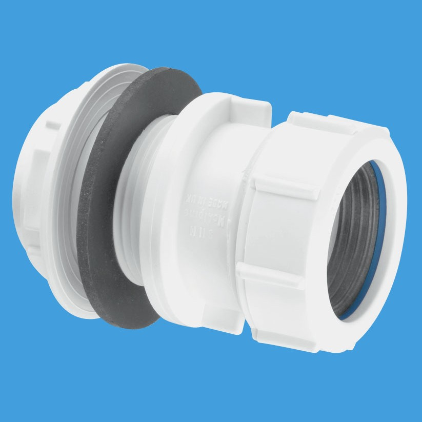 Mcalpine basin waste pipe tank connector s m