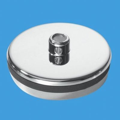 McAlpine Chrome Plastic Kitchen Sink - Bath Plug CP2 - 74000305