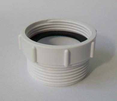 mcalpine kitchen sink waste thread adaptor euro to uk t12a f 39004016 - Kitchen Sink Waste Fittings