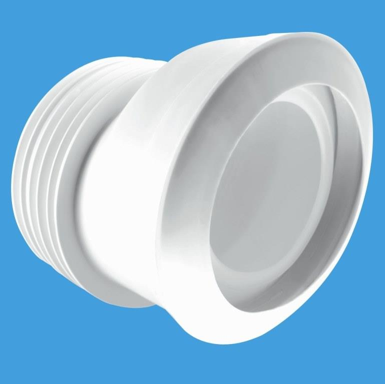 Mcalpine Macfit 20mm Offset Toilet Pan Connector Mac 4