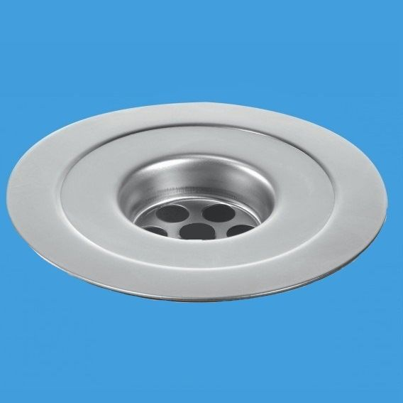 Mcalpine Stainless Steel 113mm Reducing Sink Flange 39000018 Plumbers Mate Ltd