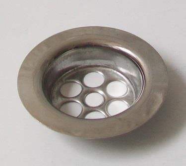 McAlpine Stainless Steel 60mm Centre Pin Basin Waste Flange - 39000049