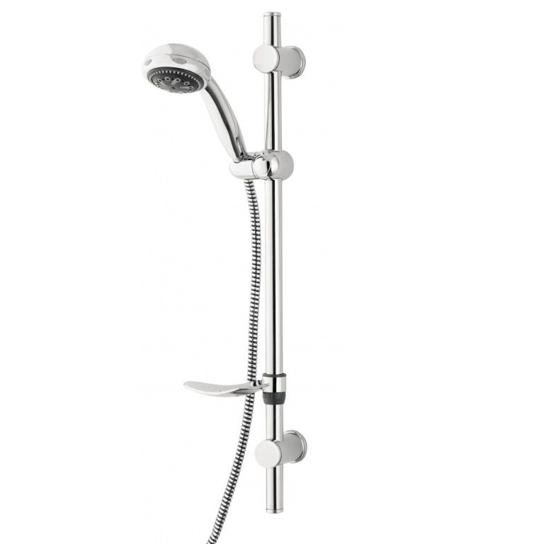 Multispray Fully Adjustable Shower Rail Riser Kit - 50803154 ...