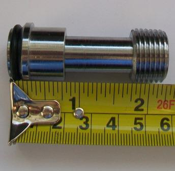 Radiator Valve Adjustable Large Nut Extension 50mm - 07001867