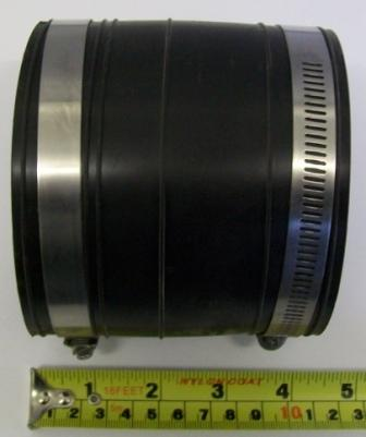 Rubber Soil Pipe Connector for 85mm-105mm Pipes
