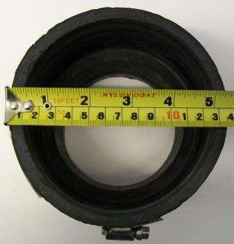 rubber soil pipe reducing connector 80 95mm x 110mm 122mm