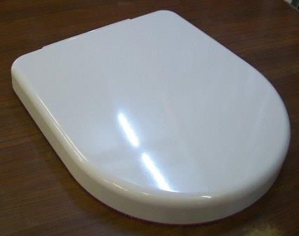 Shires Shortland D Shape Short Projection Toilet Seat