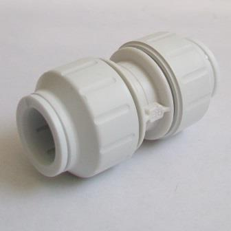 Speedfit Push Fit 15mm Pipe Straight Joiner Coupling - 21000104