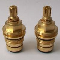 Tantara Tantofex 18 Spline Tap Washer Valves Pair