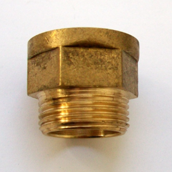Tap Tail Thread 3/4 inch Bath Brass Extension - 07001850