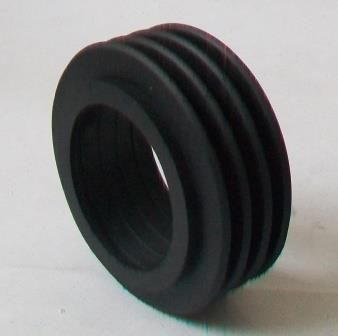 Thick Black Internal Toilet Flush Pipe Cone - 08000680