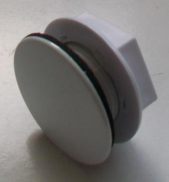 Sink Blank : White Plastic Cover Kitchen Sink Tap Hole Blank Stopper - Plumbers ...