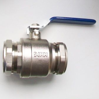 54mm Full Bore Lever Valve for Water - 07002543
