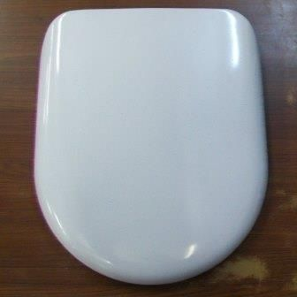 Alto Bottom Fix Contract D Shape Toilet Seat - 02000011