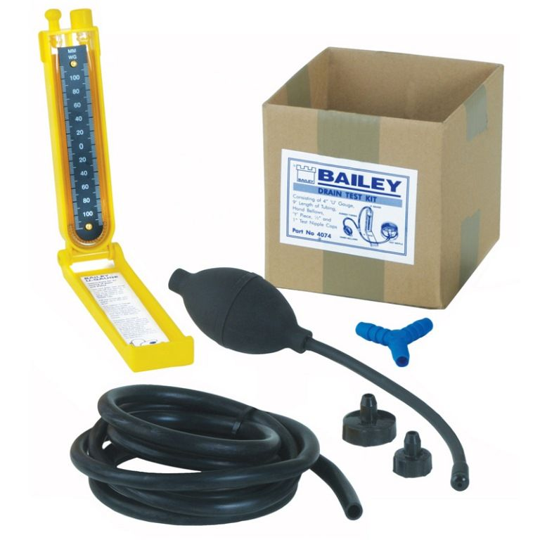 Bailey Drain Air Pressure Testing Kit 65002550