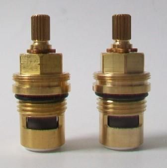 Brass 20 Long Stem Ceramic Disc Tap Cartridges - 58000004