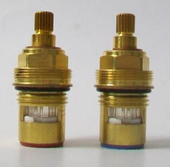 Brass 20 Spline Replacement Ceramic Disc Tap Cartridges - 620ST105
