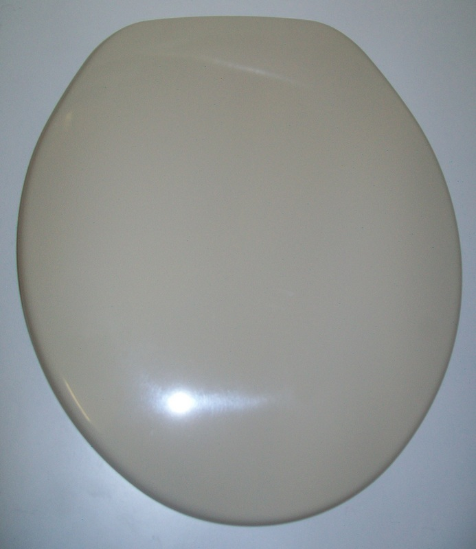 Celmac Tamar Old Colour Champagne Toilet Seat 02012611