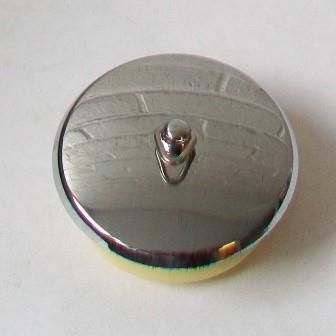 Chrome Stopper for Bath Overflow Hole - 74000840