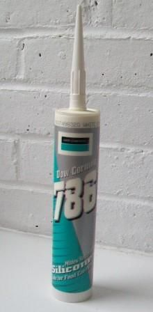 Dow Corning 786 Food Safe Silicone Sealant Clear - 12000682
