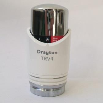 Drayton Replacement TRV4 Thermostatic Radiator Head - 32000415