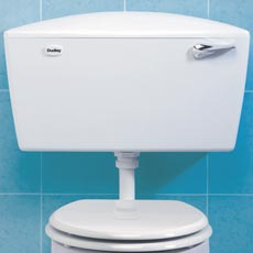 Dudley Elite Low Level Side Entry Plastic Cistern