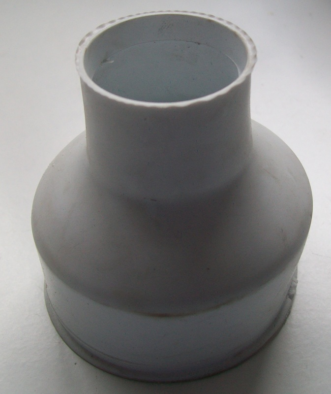 Flush Cone For Toilet Pans Old Style 08000190