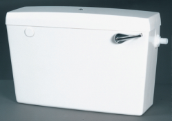 Fordham Elan Side Entry Cistern White