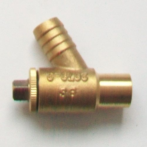 Heavy 15mm Compression Soldered Drain Off Valve 07002500